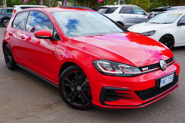 Used Volkswagen Golf 7.5 MY18 GTI DSG Original, 2018 Volkswagen Golf 7.5 MY18 GTI DSG Original Red 6 Speed Sports Automatic Dual Clutch Hatchback