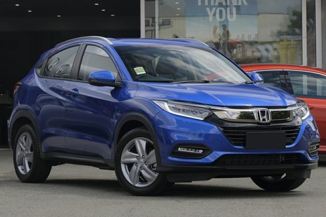 New Honda HR-V MY19 +Luxe, 2019 Honda HR-V MY19 +Luxe Blue 1 Speed Constant Variable Hatchback