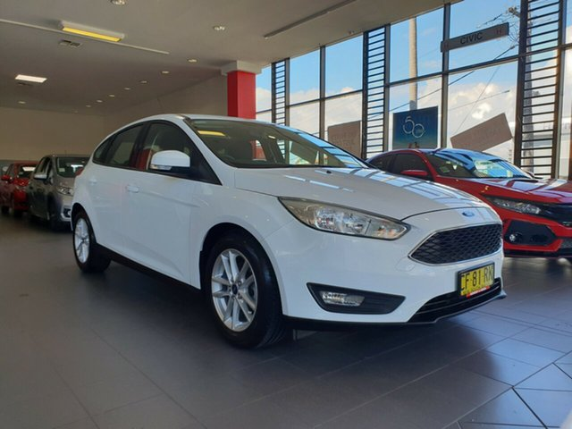 Used Ford Focus LZ Trend, 2015 Ford Focus LZ Trend White 6 Speed Automatic Hatchback