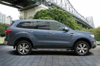 2015 Ford Everest UA Titanium 4WD Blue Reflex 6 Speed Sports Automatic Wagon.