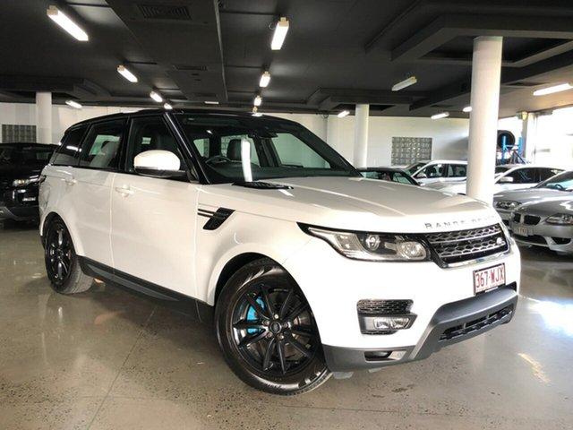 Used Land Rover Range Rover Sport L494 16.5MY TdV6 CommandShift SE, 2016 Land Rover Range Rover Sport L494 16.5MY TdV6 CommandShift SE White 8 Speed Sports Automatic