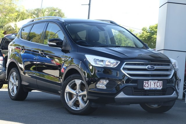 Demo Ford Escape ZG 2018.00MY Trend AWD, 2018 Ford Escape ZG 2018.00MY Trend AWD Shadow Black 6 Speed Sports Automatic Wagon