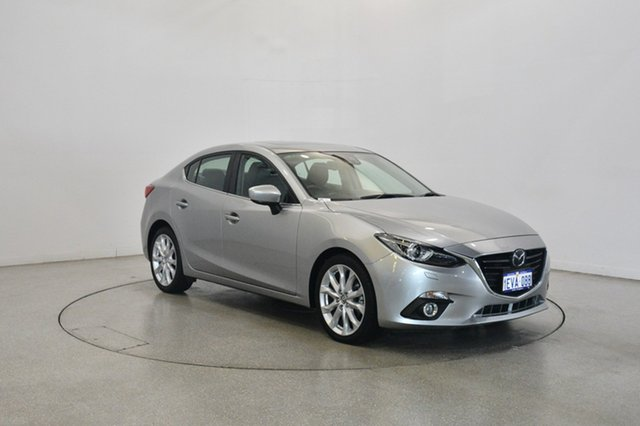 Used Mazda 3 BM5238 SP25 SKYACTIV-Drive Astina, 2014 Mazda 3 BM5238 SP25 SKYACTIV-Drive Astina Silver 6 Speed Sports Automatic Sedan