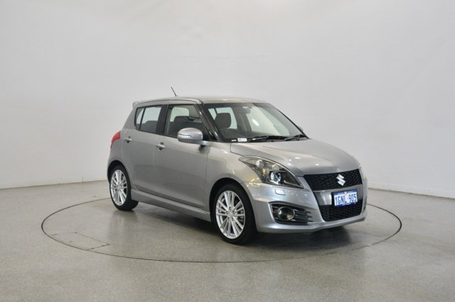 Used Suzuki Swift FZ Sport, 2013 Suzuki Swift FZ Sport Silver 7 Speed Constant Variable Hatchback