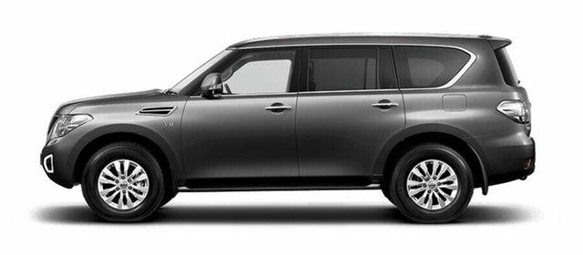 New Nissan Patrol Y62 Series 4 TI, 2019 Nissan Patrol Y62 Series 4 TI Gun Metallic 7 Speed Sports Automatic Wagon