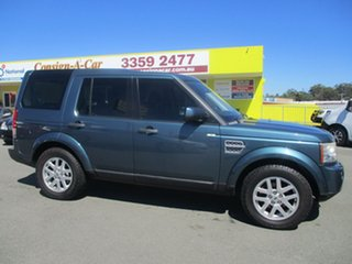 2010 Land Rover Discovery 4 Series 4 10MY TdV6 CommandShift Green 6 Speed Sports Automatic Wagon.