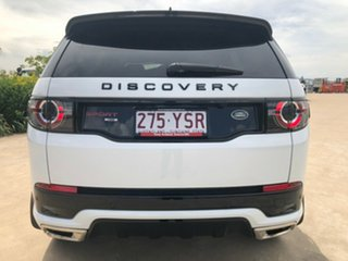 2018 Land Rover Discovery Sport L550 18MY TD4 132kW HSE White 9 Speed Sports Automatic Wagon