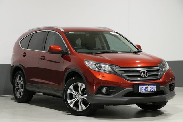 Used Honda CR-V 30 MY14 DTI-L (4x4), 2014 Honda CR-V 30 MY14 DTI-L (4x4) Red 5 Speed Automatic Wagon