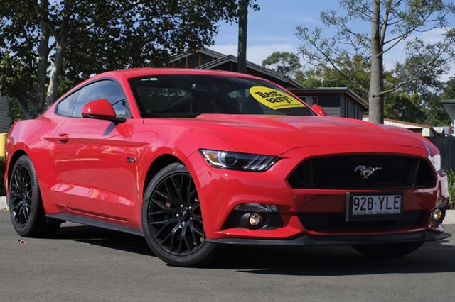 Used Ford Mustang FM 2017MY GT Fastback, 2017 Ford Mustang FM 2017MY GT Fastback Red 6 Speed Manual Fastback