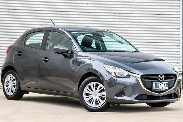 Demo Mazda 2 DJ2HAA Neo SKYACTIV-Drive, 2018 Mazda 2 DJ2HAA Neo SKYACTIV-Drive Meteor Grey 6 Speed Sports Automatic Hatchback