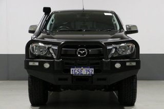 2016 Mazda BT-50 MY16 XTR (4x4) Black 6 Speed Automatic Dual Cab Utility.