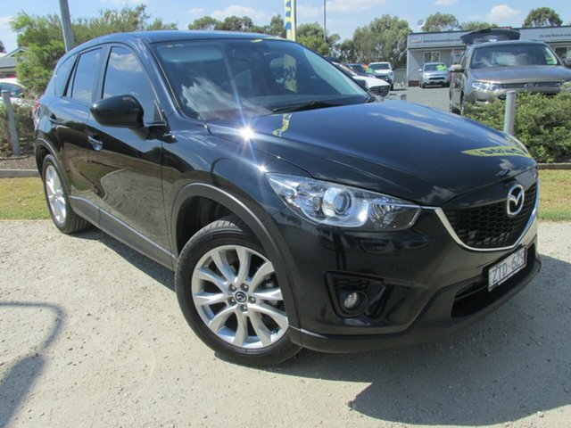 Used Mazda CX-5 KE1021 MY13 Grand Touring SKYACTIV-Drive AWD, 2013 Mazda CX-5 KE1021 MY13 Grand Touring SKYACTIV-Drive AWD Black 6 Speed Sports Automatic Wagon