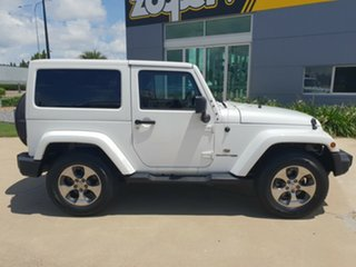 2018 Jeep Wrangler JK MY18 Overland White 5 Speed Automatic Hardtop.