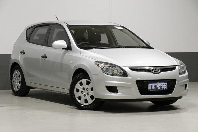 Used Hyundai i30 FD MY11 SX, 2011 Hyundai i30 FD MY11 SX Silver 4 Speed Automatic Hatchback