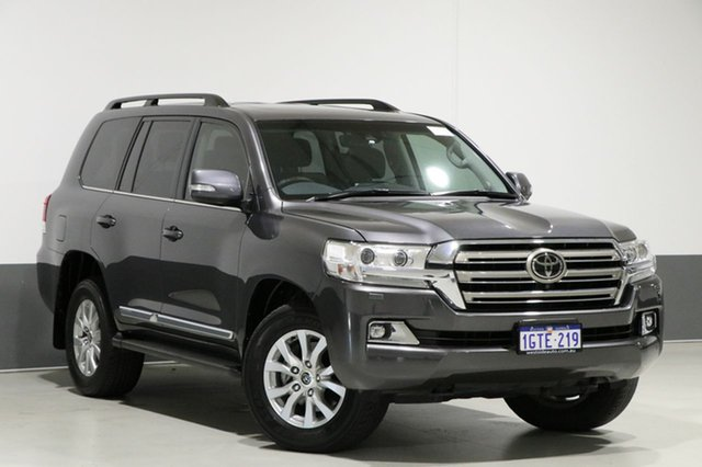 Used Toyota Landcruiser VDJ200R MY16 Sahara (4x4), 2017 Toyota Landcruiser VDJ200R MY16 Sahara (4x4) Graphite 6 Speed Automatic Wagon