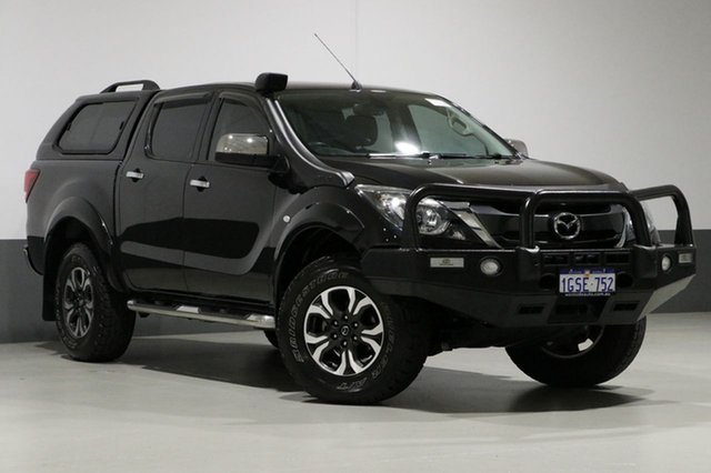 Used Mazda BT-50 MY16 XTR (4x4), 2016 Mazda BT-50 MY16 XTR (4x4) Black 6 Speed Automatic Dual Cab Utility