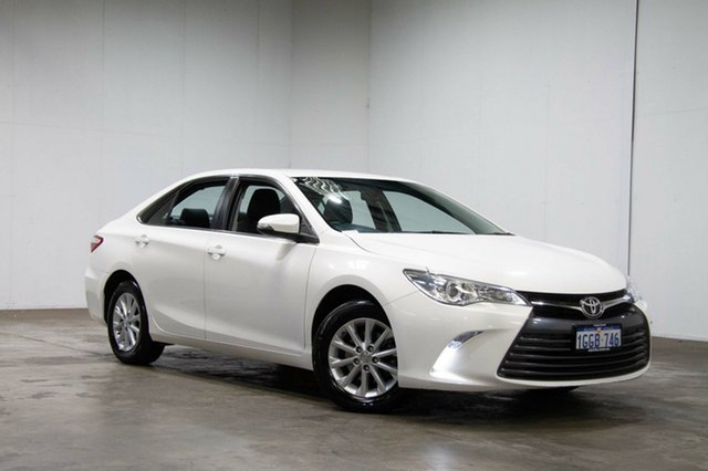 Used Toyota Camry ASV50R Altise, 2017 Toyota Camry ASV50R Altise White 6 Speed Sports Automatic Sedan