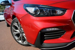 2020 Hyundai i30 PD.3 MY20 N Line D-CT Fiery Red 7 Speed Sports Automatic Dual Clutch Hatchback