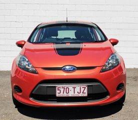 2013 Ford Fiesta WZ Ambiente PwrShift Metallic Orange 6 Speed Sports Automatic Dual Clutch Hatchback.