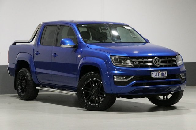 Used Volkswagen Amarok 2H MY17 V6 TDI 550 Ultimate, 2016 Volkswagen Amarok 2H MY17 V6 TDI 550 Ultimate Blue 8 Speed Automatic Dual Cab Utility