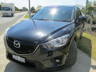 2013 Mazda CX-5 KE1021 MY13 Grand Touring SKYACTIV-Drive AWD Black 6 Speed Sports Automatic Wagon.