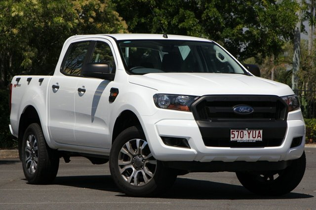 Used Ford Ranger PX MkII 2018.00MY XL Double Cab 4x2 Hi-Rider, 2017 Ford Ranger PX MkII 2018.00MY XL Double Cab 4x2 Hi-Rider White 6 Speed Sports Automatic Utility