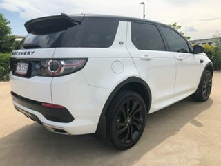 2018 Land Rover Discovery Sport L550 18MY TD4 132kW HSE White 9 Speed Sports Automatic Wagon.