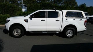 2014 Ford Ranger PX XL Double Cab 4x2 Hi-Rider Cool White 6 Speed Sports Automatic Utility