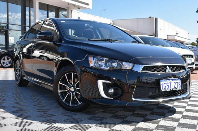 Used Mitsubishi Lancer CF MY17 ES Sport, 2017 Mitsubishi Lancer CF MY17 ES Sport Black/Grey 6 Speed Constant Variable Sedan