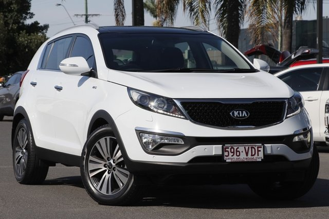 Used Kia Sportage SL MY14 Platinum AWD, 2014 Kia Sportage SL MY14 Platinum AWD White 6 Speed Sports Automatic Wagon
