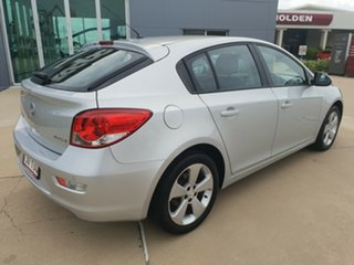 2013 Holden Cruze JH Series II MY13 Equipe Silver 6 Speed Sports Automatic Hatchback.