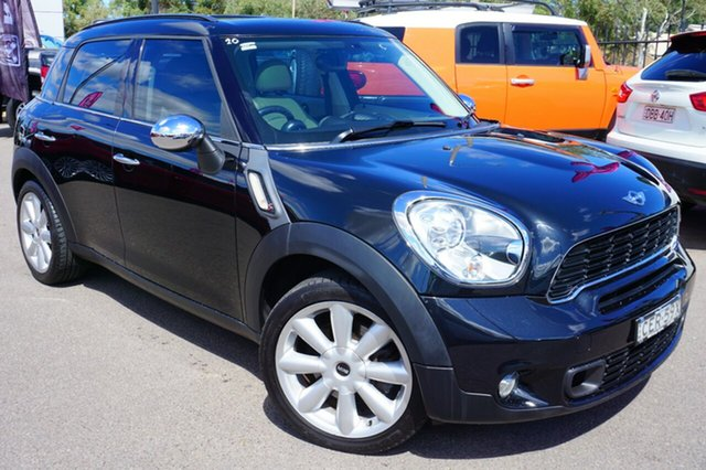 Used Mini Countryman R60 Cooper S, 2011 Mini Countryman R60 Cooper S Black 6 Speed Sports Automatic Wagon