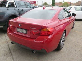 2013 BMW 435i F32 Red/Black 8 Speed Sports Automatic Coupe.