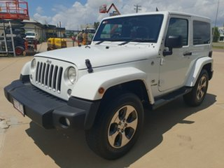2018 Jeep Wrangler JK MY18 Overland White 5 Speed Automatic Hardtop