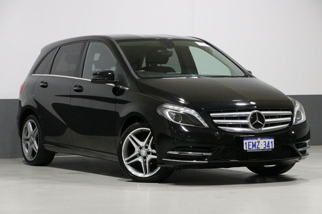 Used Mercedes-Benz B200 246 MY14 CDI, 2014 Mercedes-Benz B200 246 MY14 CDI Black 7 Speed Auto Direct Shift Hatchback