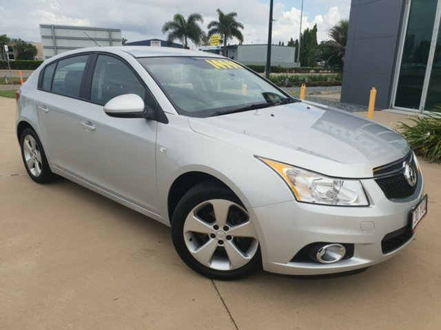Used Holden Cruze JH Series II MY13 Equipe, 2013 Holden Cruze JH Series II MY13 Equipe Silver 6 Speed Sports Automatic Hatchback