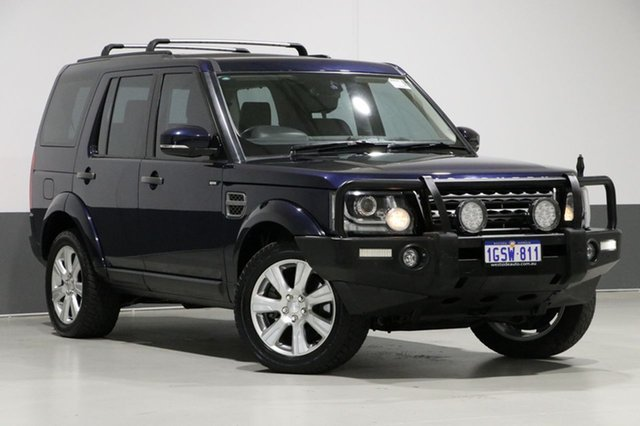 Used Land Rover Discovery MY14 3.0 SDV6 SE, 2014 Land Rover Discovery MY14 3.0 SDV6 SE Blue 8 Speed Automatic Wagon