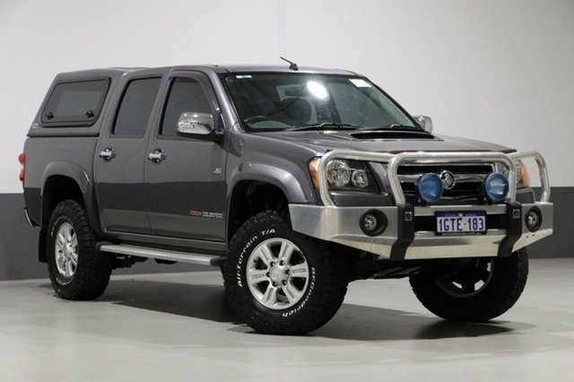 Used Holden Colorado RC MY10 LT-R (4x4), 2009 Holden Colorado RC MY10 LT-R (4x4) Grey 5 Speed Manual Crew Cab Pickup