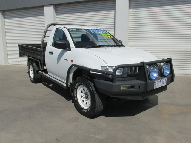 Used Mitsubishi Triton ML MY07 GLX, 2007 Mitsubishi Triton ML MY07 GLX White 5 Speed Manual Cab Chassis