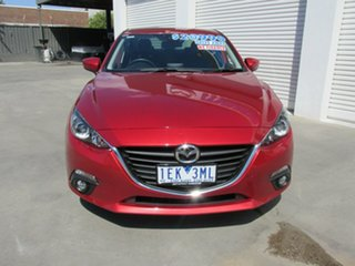 2015 Mazda 3 BM5278 Touring SKYACTIV-Drive Soul Red 6 Speed Sports Automatic Sedan.