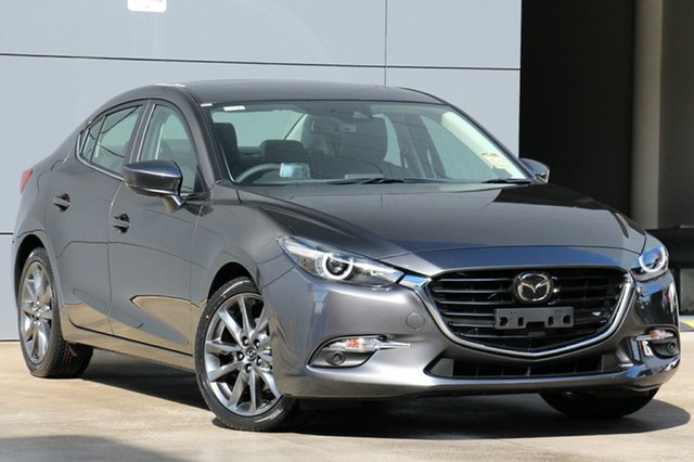 New Mazda 3 BN5238 SP25 SKYACTIV-Drive Astina, 2019 Mazda 3 BN5238 SP25 SKYACTIV-Drive Astina Machine Grey 6 Speed Sports Automatic Sedan