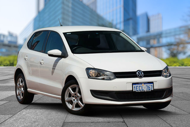 Used Volkswagen Polo 6R MY13.5 77TSI DSG Comfortline, 2013 Volkswagen Polo 6R MY13.5 77TSI DSG Comfortline White 7 Speed Sports Automatic Dual Clutch
