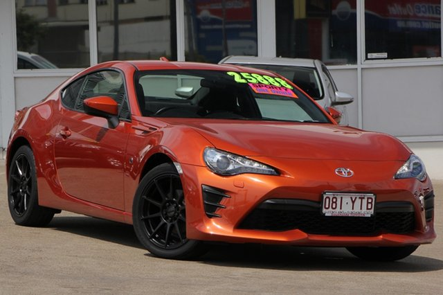 Used Toyota 86 ZN6 GT, 2016 Toyota 86 ZN6 GT Orange 6 Speed Manual Coupe