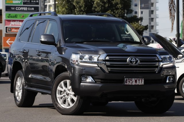 Used Toyota Landcruiser VDJ200R VX, 2016 Toyota Landcruiser VDJ200R VX Graphite Grey 6 Speed Sports Automatic Wagon