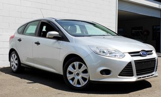 2012 Ford Focus LW Ambiente PwrShift Metallic Silver 6 Speed Sports Automatic Dual Clutch Hatchback.