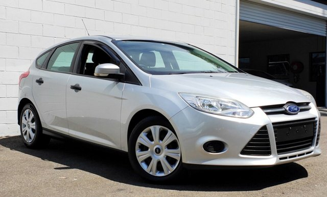 Used Ford Focus LW Ambiente PwrShift, 2012 Ford Focus LW Ambiente PwrShift Metallic Silver 6 Speed Sports Automatic Dual Clutch Hatchback
