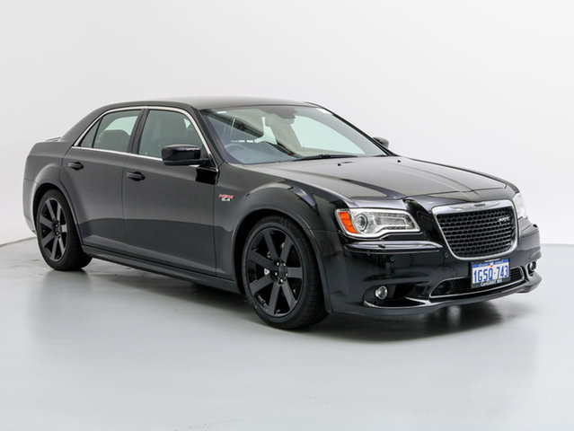 Used Chrysler 300 MY12 SRT8, 2014 Chrysler 300 MY12 SRT8 Black 5 Speed Automatic Sedan