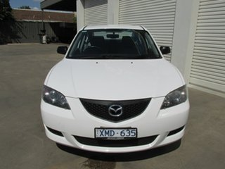 2004 Mazda 3 BK10F1 Neo White 4 Speed Sports Automatic Sedan.