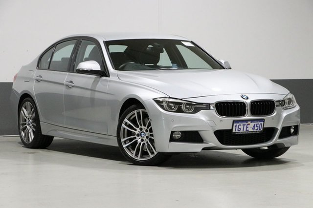 Used BMW 330i F30 LCI MY18 M Sport, 2018 BMW 330i F30 LCI MY18 M Sport Silver 8 Speed Automatic Sedan