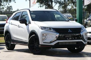 2019 Mitsubishi Eclipse Cross YA MY19 Black Edition 2WD Starlight 8 Speed Constant Variable Wagon.
